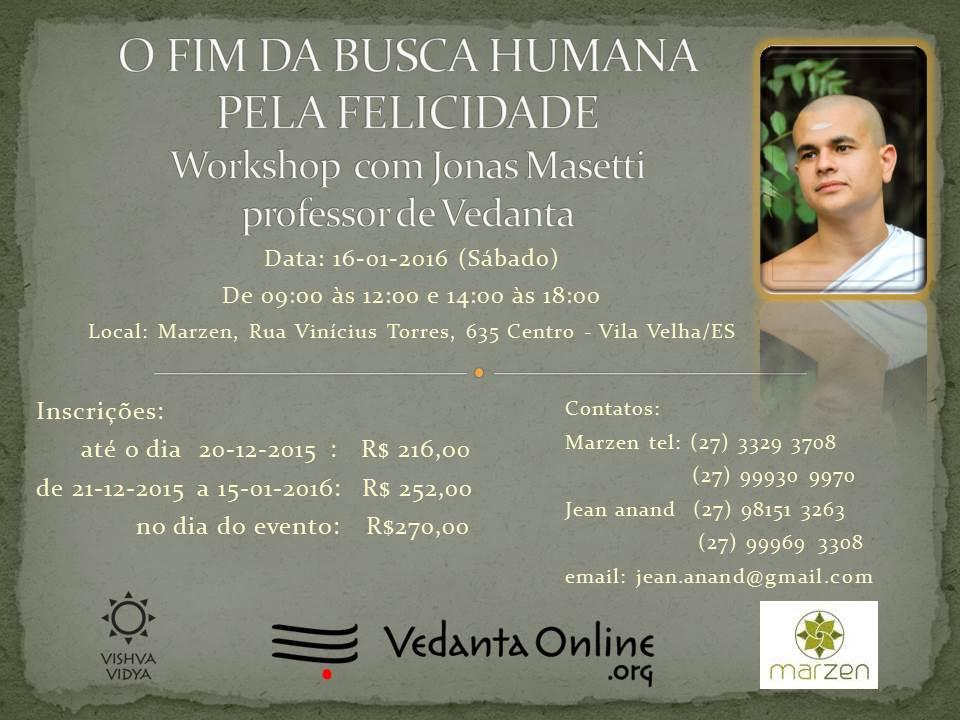 Workshop com Jonas Masetti